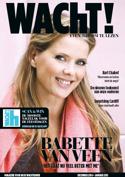 Bram interviewt Babette van Veen