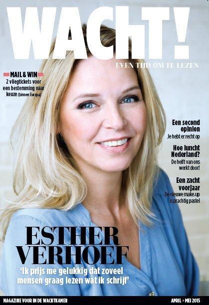 Bram interviewt Esther Verhoef