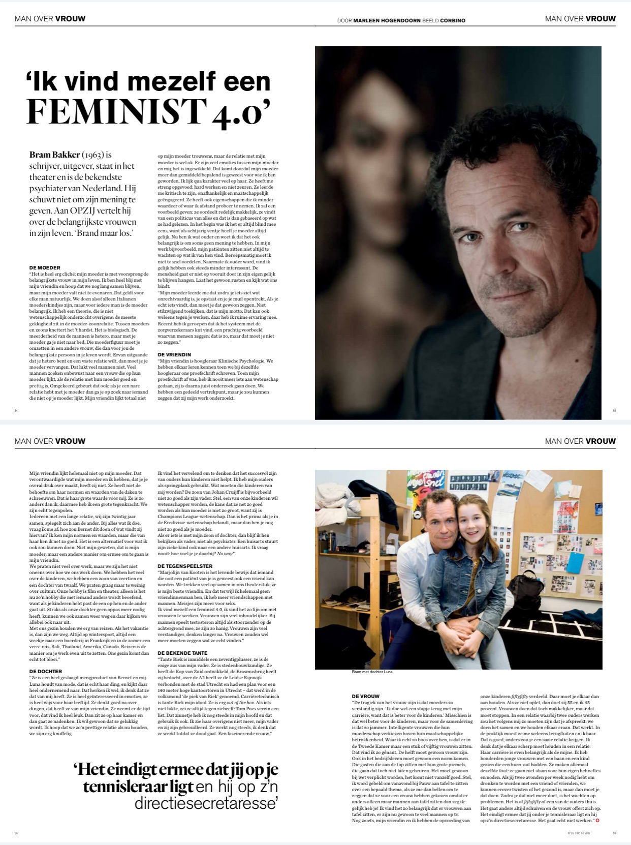 'Ik vind mezelf een FEMINIST 4.0'